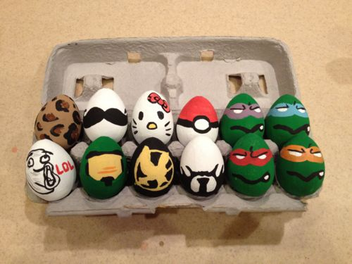 Character eggs