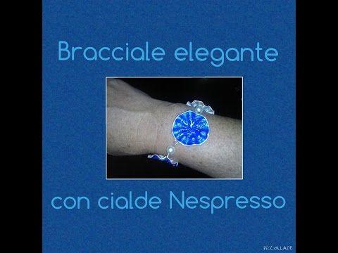 Bracciale elegante con cialde Nespresso I 4° tutorial I Elimo73 - YouTube
