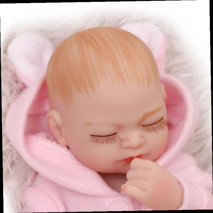 46.08$  Buy here - http://ali3zt.worldwells.pw/go.php?t=32763803898 - High Quality 25-28 cm Full Silicone Lifelike Reborn Baby Dolls For Sale Cute Close Eyes Newborn Babies Cheap Reborn Baby Dolls 46.08$
