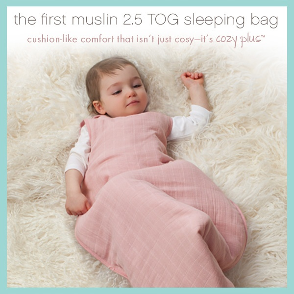 Now available in Australia: 2.5 TOG cozy plus sleeping bag!
