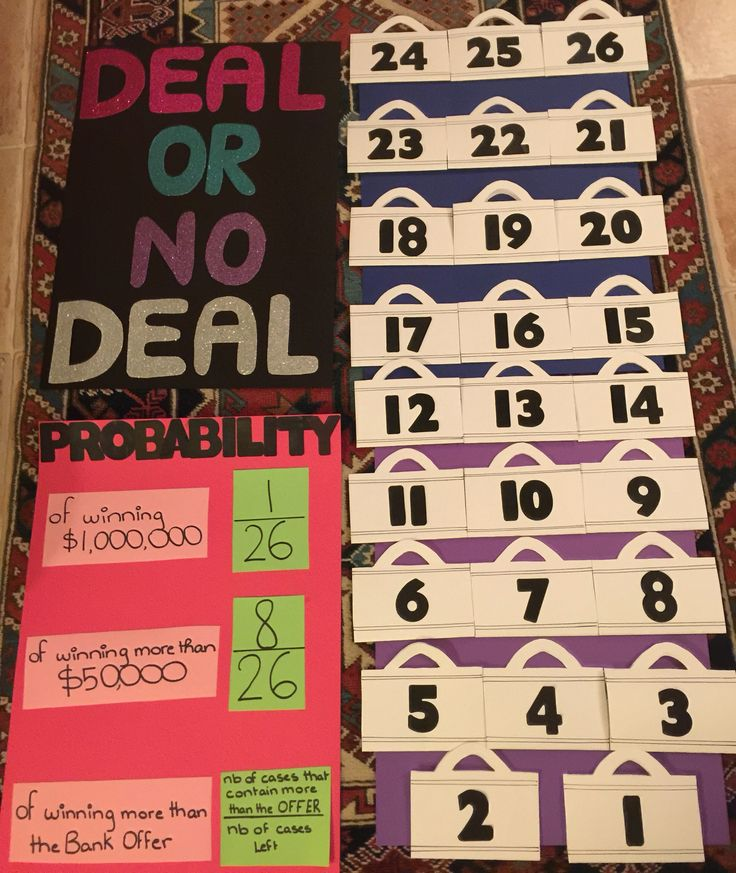 There are various ideas for a probability math carnival