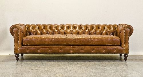 How Do You Feel About A Chesterfield With Single Bench Cushion Housestuff Pinterest Couch And