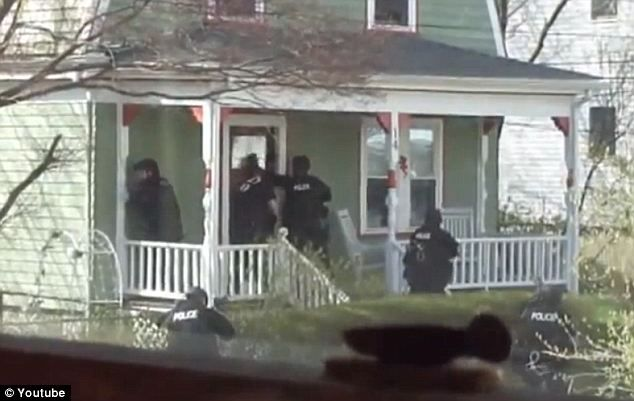 The controversial moment SWAT teams ordered innocent neighbors out of their houses at GUNPOINT during door-to-door searches for the Boston bomber:     Article and Videos