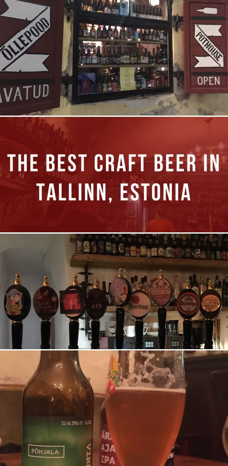 The best craft beer in Tallinn, Estonia