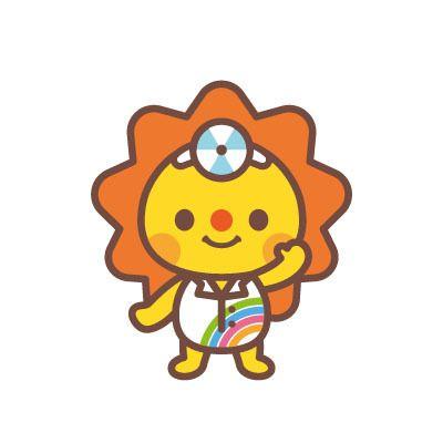 D-Cafeさんの提案 - 太陽と虹を用いた小児耳鼻咽喉科のマスコットキャラクター | クラウドソーシング「ランサーズ」