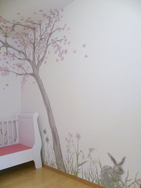die besten 25 wandmalerei ideen auf pinterest. Black Bedroom Furniture Sets. Home Design Ideas