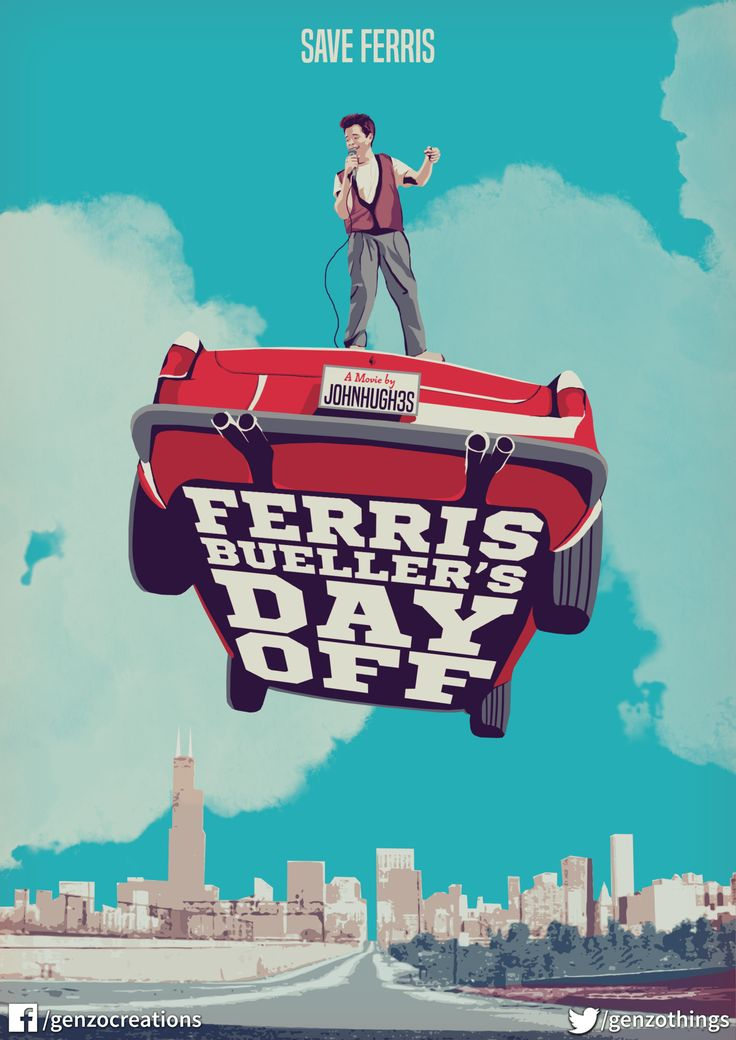 Ferris Buellers Day Off (1986) [1600 x 2263]