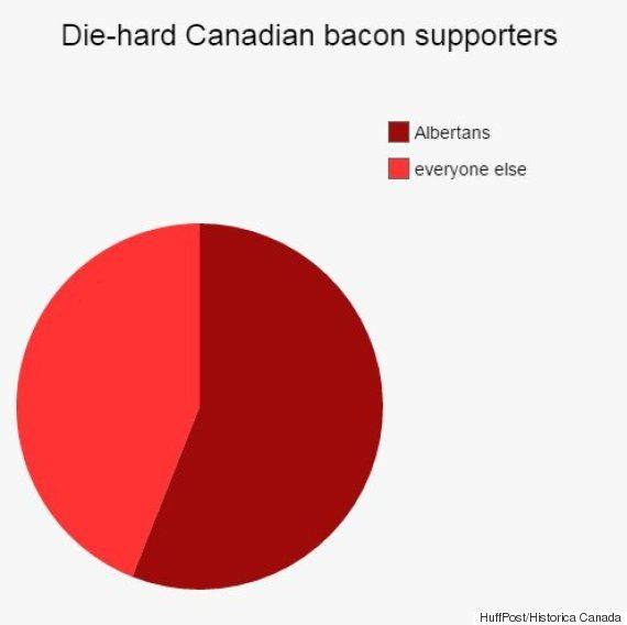 Classic Canadian Stereotypes Explained With Cheeky Pie Charts