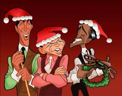Dean Martin, Frank Sinatra and Sammy Davis Jr Christmas.