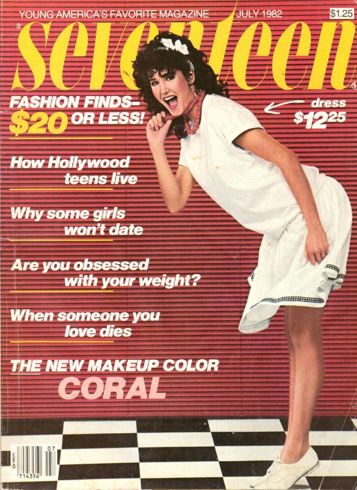 1982 Seventeen Magzine Tracy Nelson Reiner Teen Stars Retro Vintage Ads 80s #Seventeen