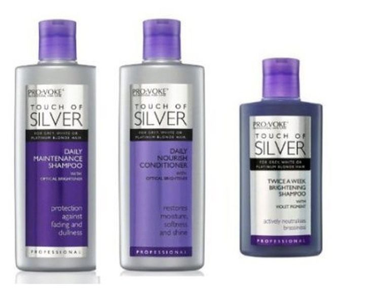 Pro:Voke Set Of 3 - Touch Of Silver - Silver Daily Maintenance Shampoo 200Ml ...