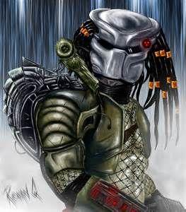 Predator v2 photoshop paint by RonanQ