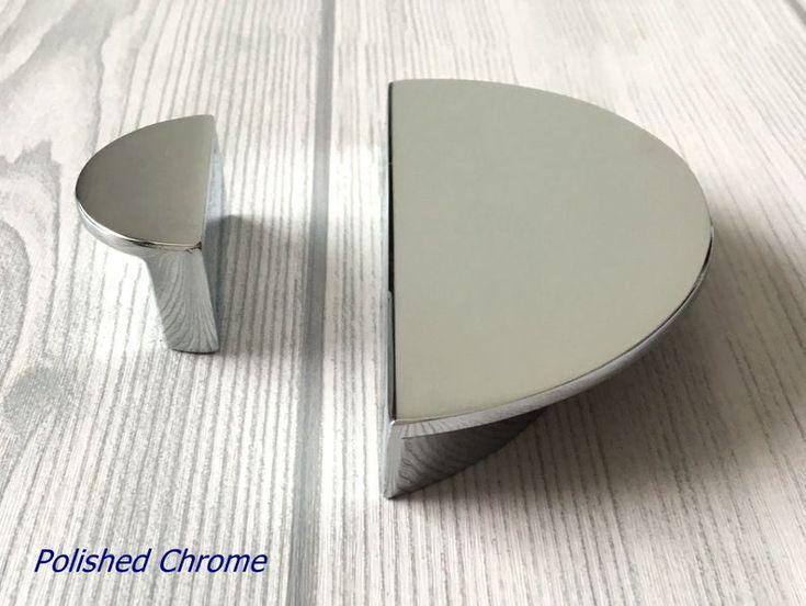 1 1 4 2 1 2 C C Drawer Pull Half Moon Dresser Etsy Polished Chrome Cabinet Pulls Chrome Cabinet Pulls Drawer Pull Handles