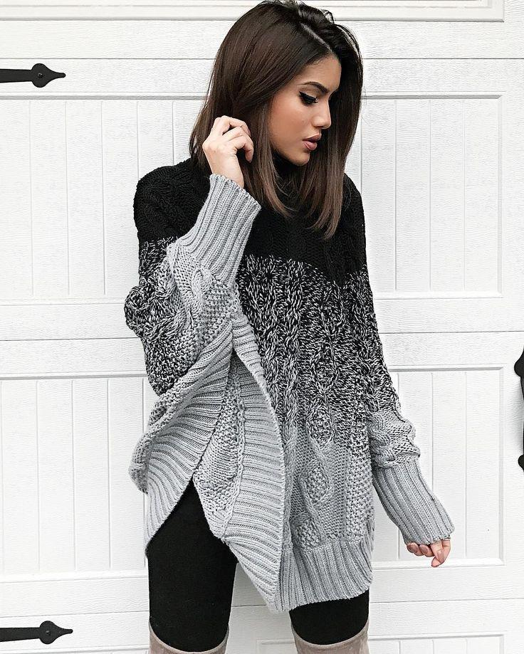 """105.8 mil curtidas, 599 comentários - Camila Coelho (@camilacoelho) no Instagram: """"Maxi sweater kinda day!❄️ #ootd E os dias só vão esfriando por aqui!"""""""