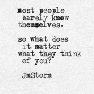 What does it matter  #jmstorm #jmstormquotes