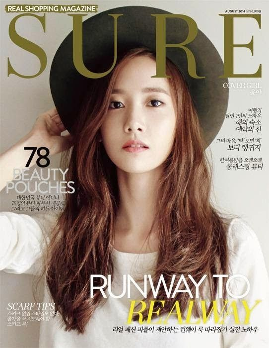 Yoona - SURE Magazine