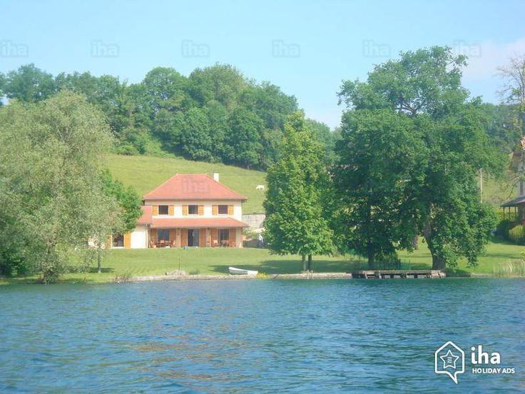 Te huur Paladru Frankrijk Huis, ontdekken Dauphiné 'Tabgha' Vakantiewoningen 12 Personen N°55864 IHA : wifi, privé aanlegsteiger, aanlegplaats in haven