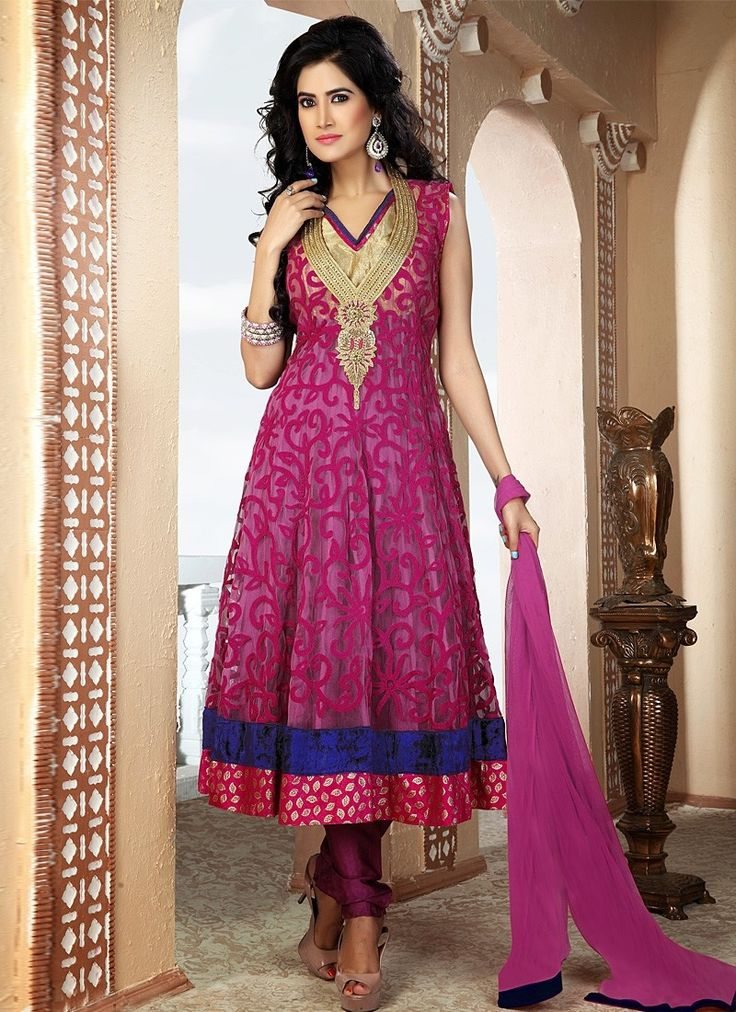 103 best images about Long Length Anarkali Salwar Kameez Online on ...