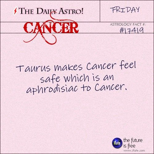 Cancer 17419: Visit The Daily Astro for more Cancer facts. And you can get more top rated Cancer zodiac instruction on the premier astrology and tarot website.
