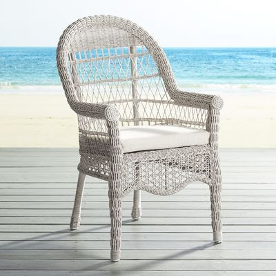 An Exceptionally Comfy, Traditional Outdoor Dining Chair Made Of  Hand Woven, All