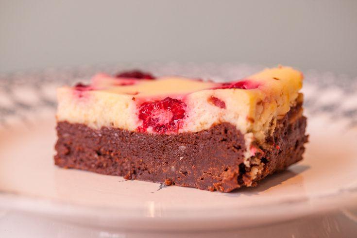 Raspberry Cheesecake Brownie0001