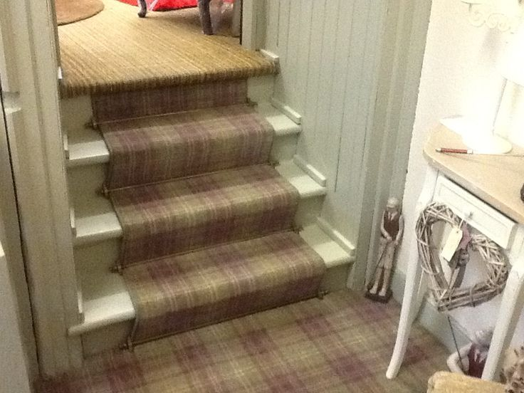 Ulster Carpets Braeburn Myrtle Carpet Stairs Carpet