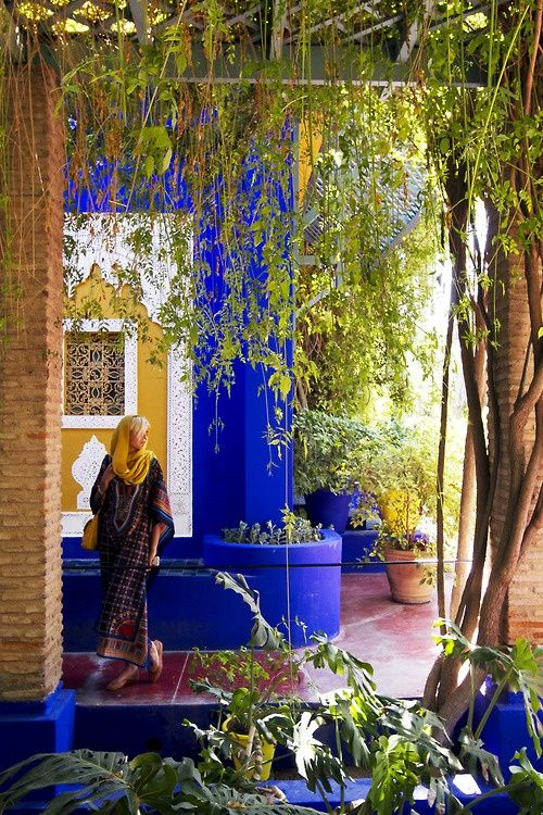 19 best images about gardens jardin majorelle marrakech for Jardin yves saint laurent