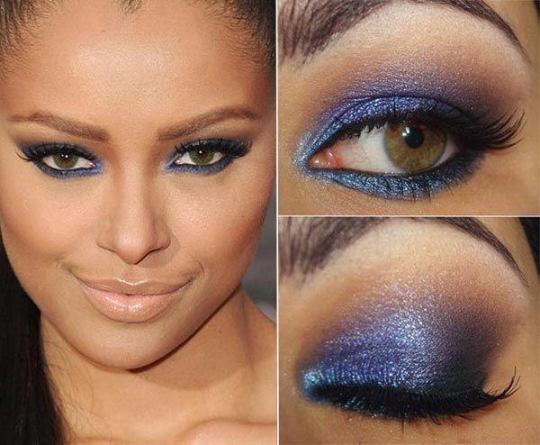 Tutorial – A maquiagem azul de Katerina Graham