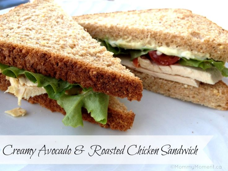 sandwiches recipes | ... Avocado & Roasted Chicken Sandwich Recipe ~ @Dempster's® Bakery #Giveaway