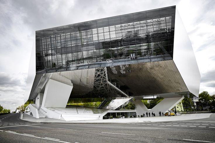 Architecture photography porsche museum for Stuttgart architecture