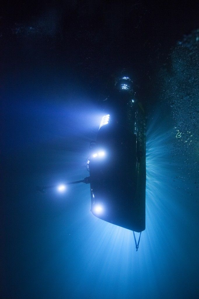 Pictures We Love: A Selfie in Space and a Trip to the Bottom of the Sea - James Cameron designed his own sub, the DEEPSEA CHALLENGER, to take him down to the Mariana Trench.