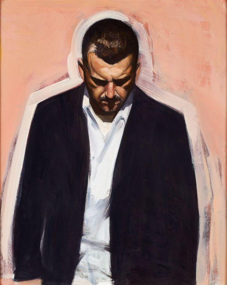 Stephen Conroy | Study for Self-Portrait 1