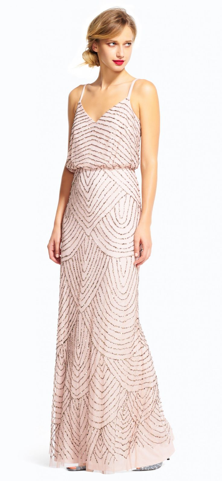 Petite Wedding Guest Dresses | Adrianna Papell in Petite Cocktail Dresses For Wedding