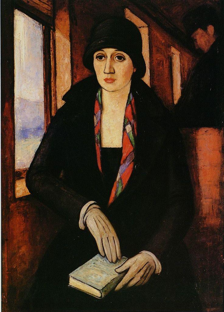 La Viajera. Camilo Mori, 1926. Museo Nacional de Bellas Artes, Santiago-Chile.