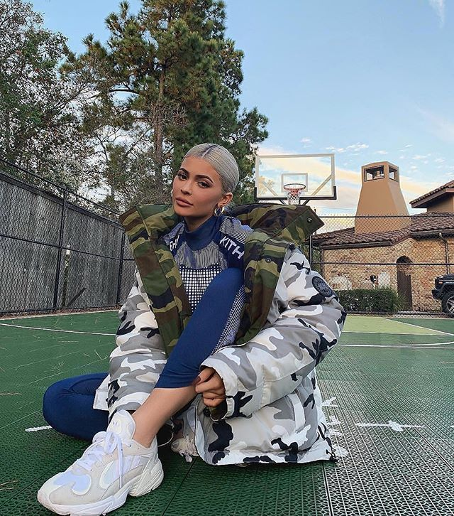 kingkylie kylie looking good with adidas on  Kim. K