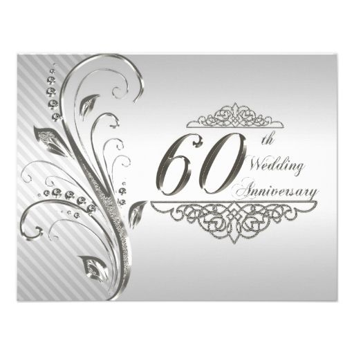 57 Best Images About 60th Wedding Anniversary Cards On