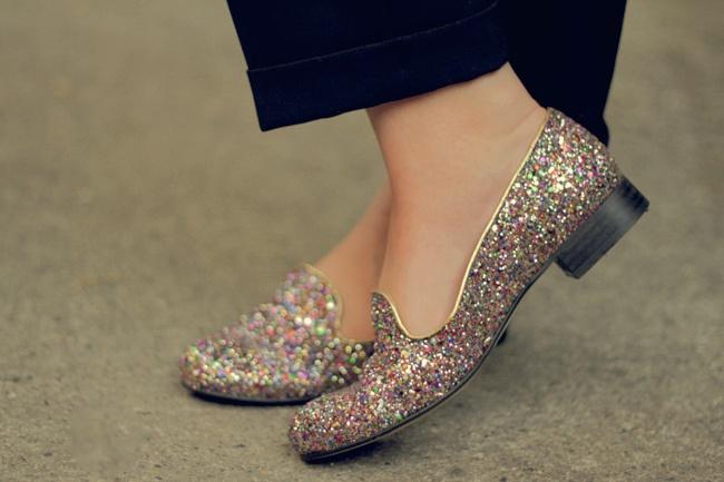 VIPXO - A UK FASHION, STYLE & BEAUTY BLOG: I'M LOVING... GLITTER LOAFERS: Wedding Shoes, Fashion Styles