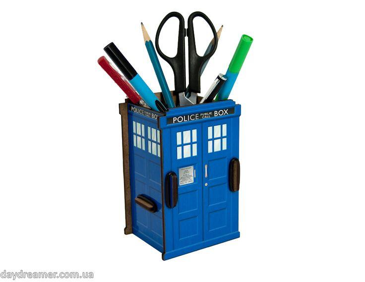 Органайзер для ручек и карандашей Полицейская Будка – Police Box