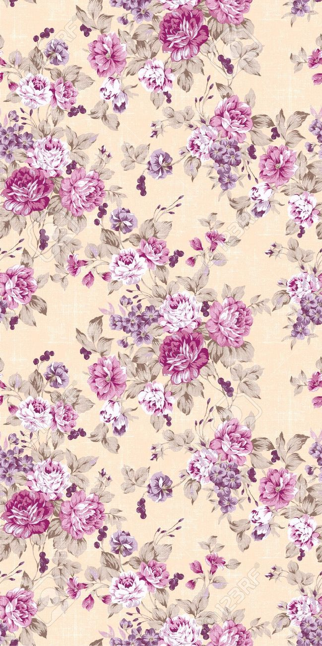 Best 25+ Vintage floral wallpapers ideas on Pinterest ...