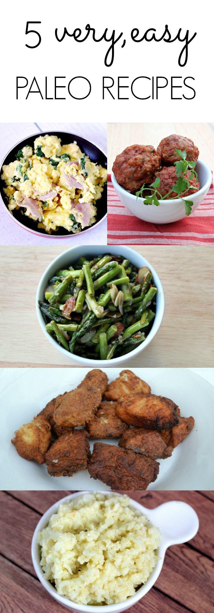 5 Easy Paleo Recipes from 2013 - Bravo For Paleo
