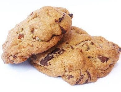 The summer before last, a mutual friend brought the lovely Katie Lee Joel and her husband William over for dinner. She brought a fresh batch of these Chocolate Chunk and Dried Cherry Cookies with her.