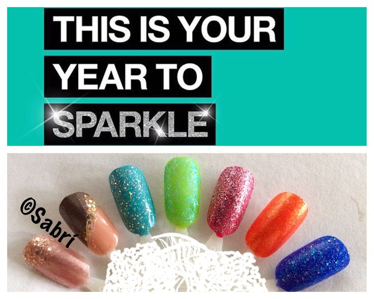 My new #naildesigns: #glitter #sparkle #bling. #nailart. #Nails #Uñas #Unghie #Ongles  #Unhas #Nailpolish #Esmalte #Smalto #Émail. #Beauty #Belleza #Bellezza #Beauté #Beleza #Cosmetics #Cosméticos #Cosmetici #fabat40.