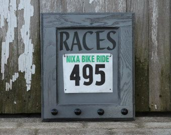 Race Bib and Running Medals Display Combo