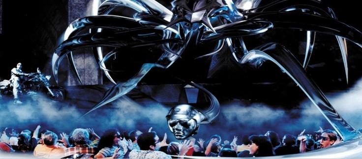 Terminator 2: 3D at Universal Studios Hollywood and Universal Studios Florida