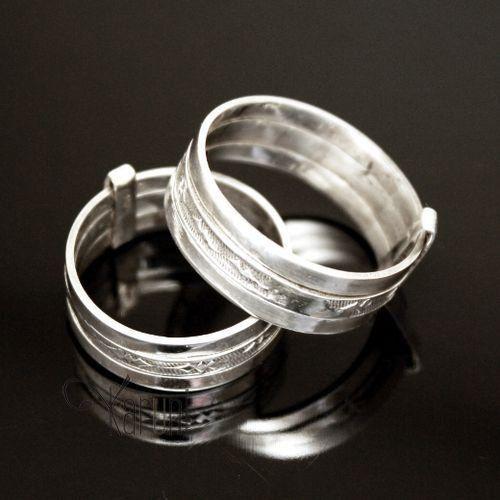 bijoux touareg ethniques bague anneau en argent 3 anneaux gravure homme femme bague. Black Bedroom Furniture Sets. Home Design Ideas