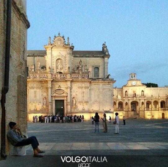 Piazza Del Duomo Lecce.