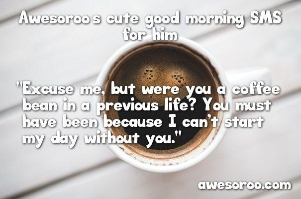 good morning coffee image