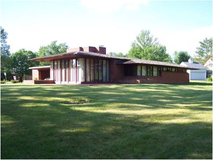 Haynes House in Ft Wayne. Available for rental however haynes house website is not working. | Frank Lloyd Wright | Pinterest | Frank lloyd wright and Lloyd wri…