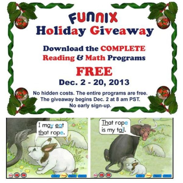 FREE Funnix Complete Reading and Math Software Programs {limited time}
