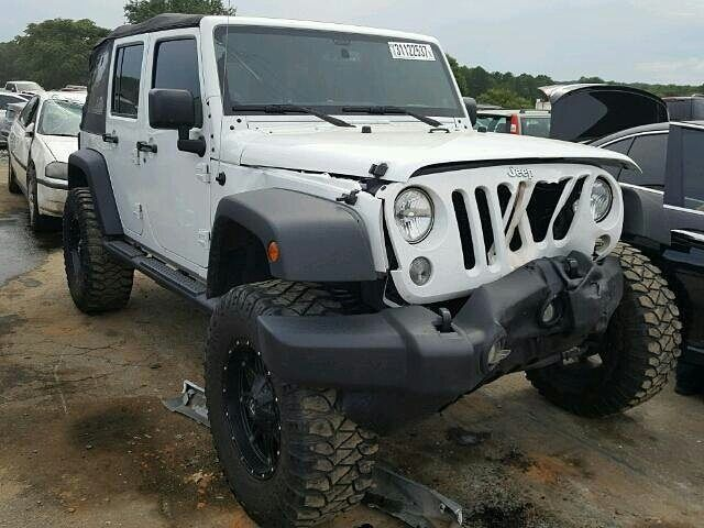 #salvage #forsale 2014 #jeep #wrangler #rubicon #willys www.bidgodrive.com #awd #bid #buy #4x4 #trailride #mud #mudding #offroad #camping #outdoors #summer